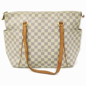 Louis Vuitton Damier Azur Totally MM Zip Tote